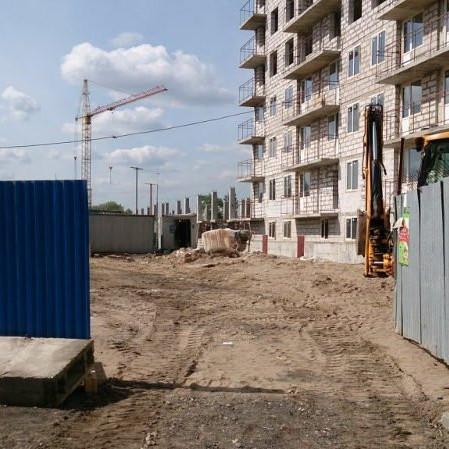 Фото от застройщика о строительстве ЖК Родные берега 2016