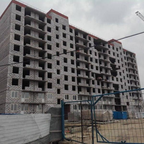 Отчет с хода строительства комплекса Родные берега март 2016