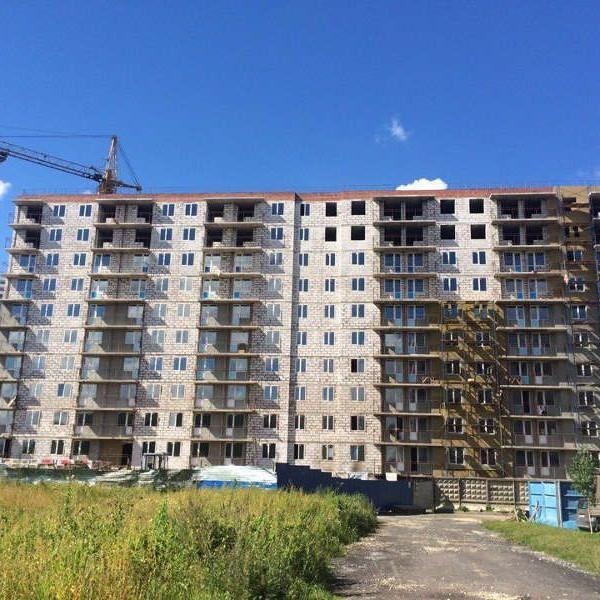 Жилой комплекс Родные берега ход строительства август 2016